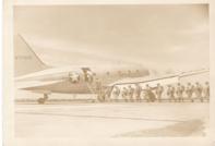 dad boarding jump plane