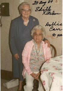 Dollie and Edith